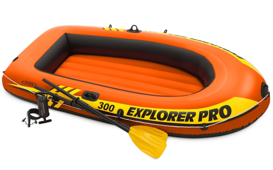 Nafukovací čln Intex 58358 Explorer Pro 300 set