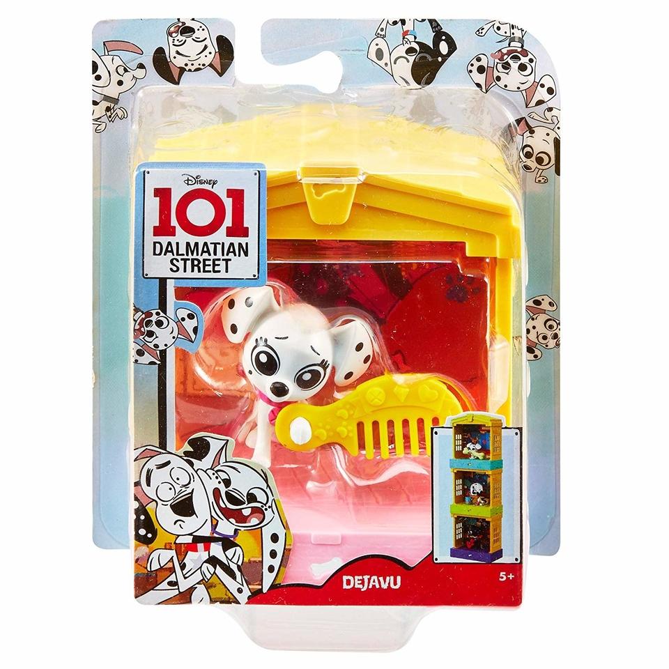Mattel set 101 dalmatíncov Dejavu 12,5cm