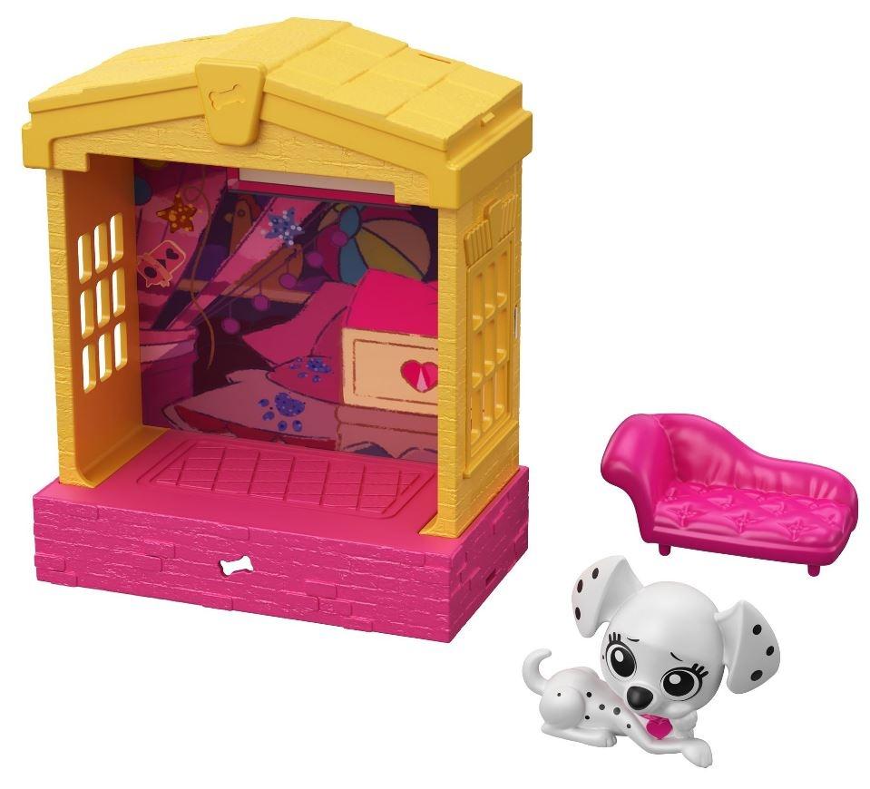 Mattel set 101 dalmatíncov Destiny 12,5cm