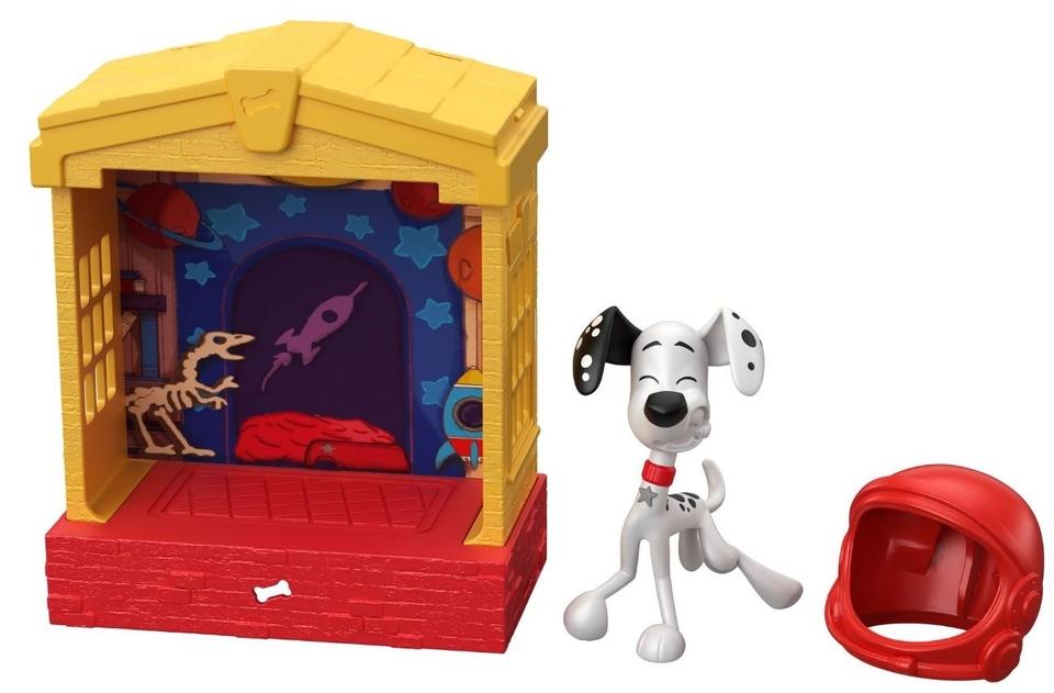 Mattel set 101 dalmatíncov Dylan 12,5cm