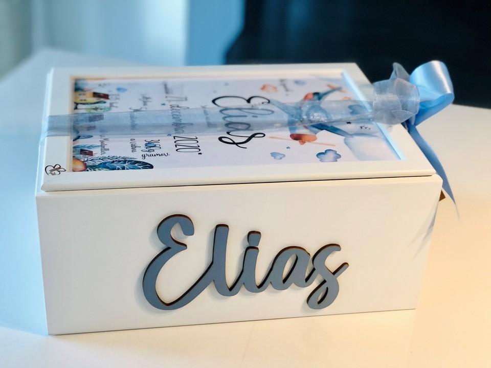 Darčekový box k narodeniu dieťatka 1