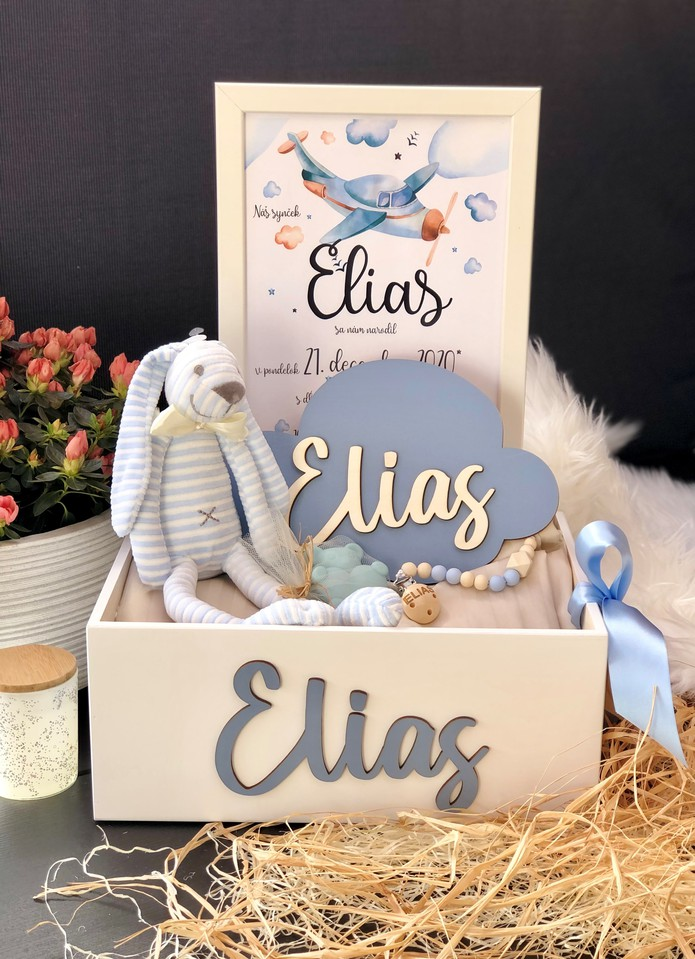 Darčekový box k narodeniu dieťatka 2