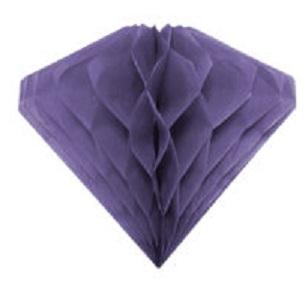 Ozdobná dekorácia fialová20cm