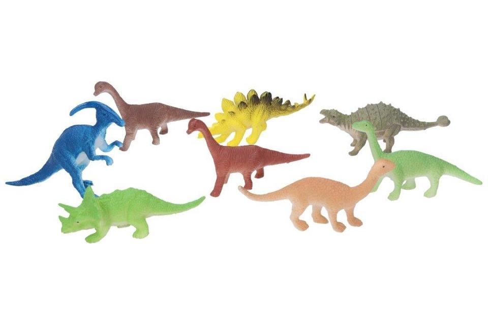 Sada Dinosaurov 9cm 8ks