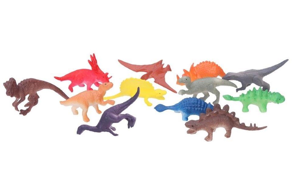 Sada dinosaurov 12ks 6cm