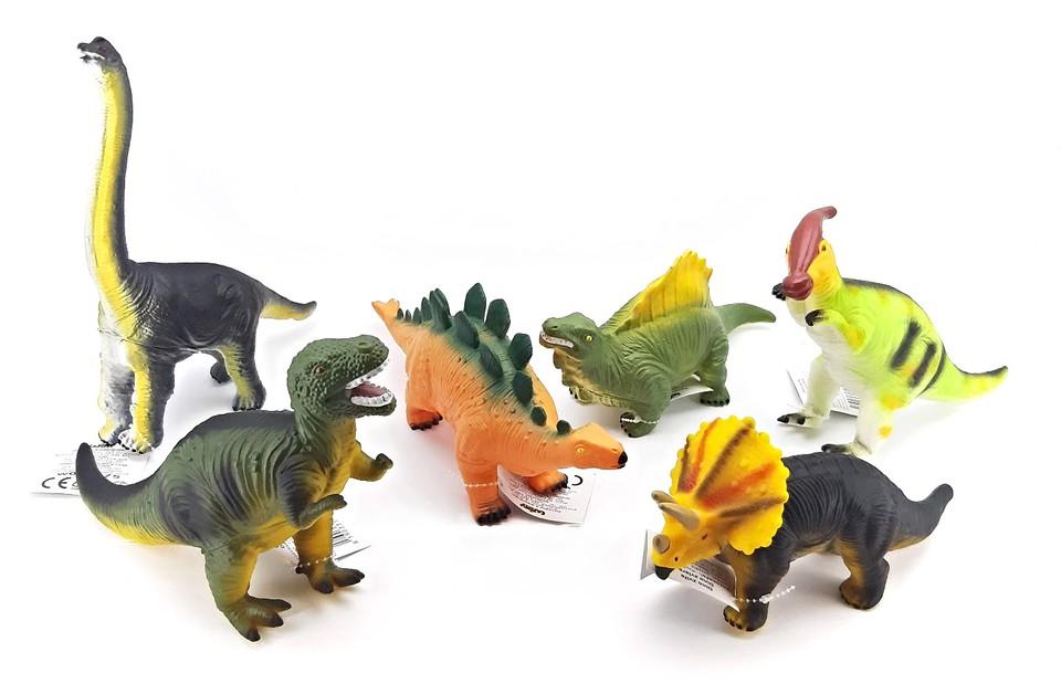 Dinosaurus 25cm / 6druhov