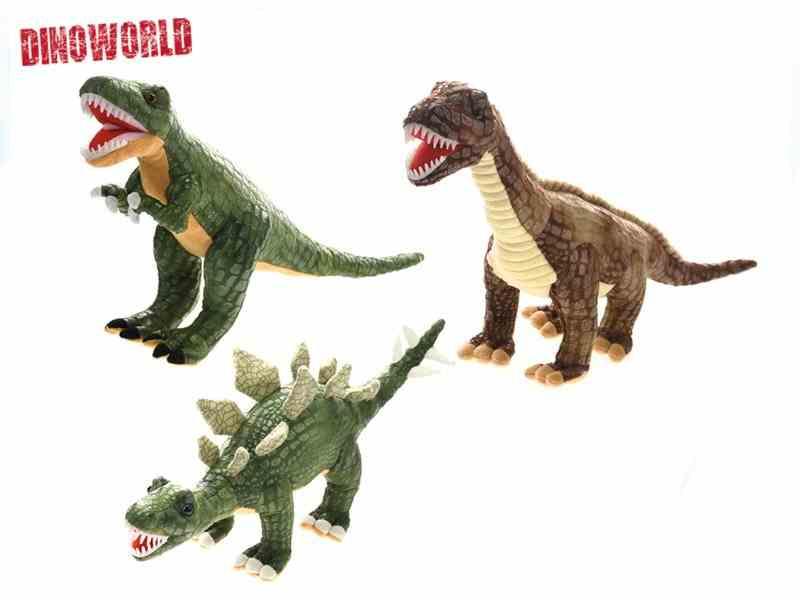 Dinosaurus plyšový 50-60cm - Brontosaurus