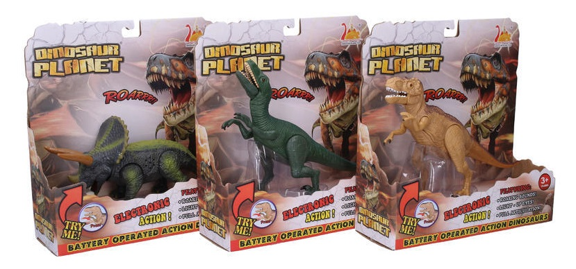 Dinosaurus s efektmi 22cm - Velociraptor