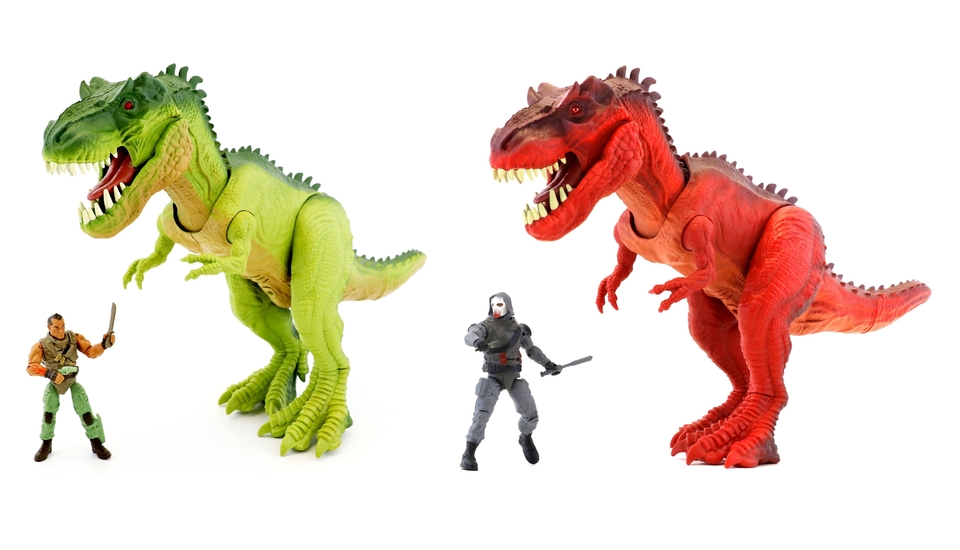 Dinosaurus T-Rex sada 32cm - náhodná