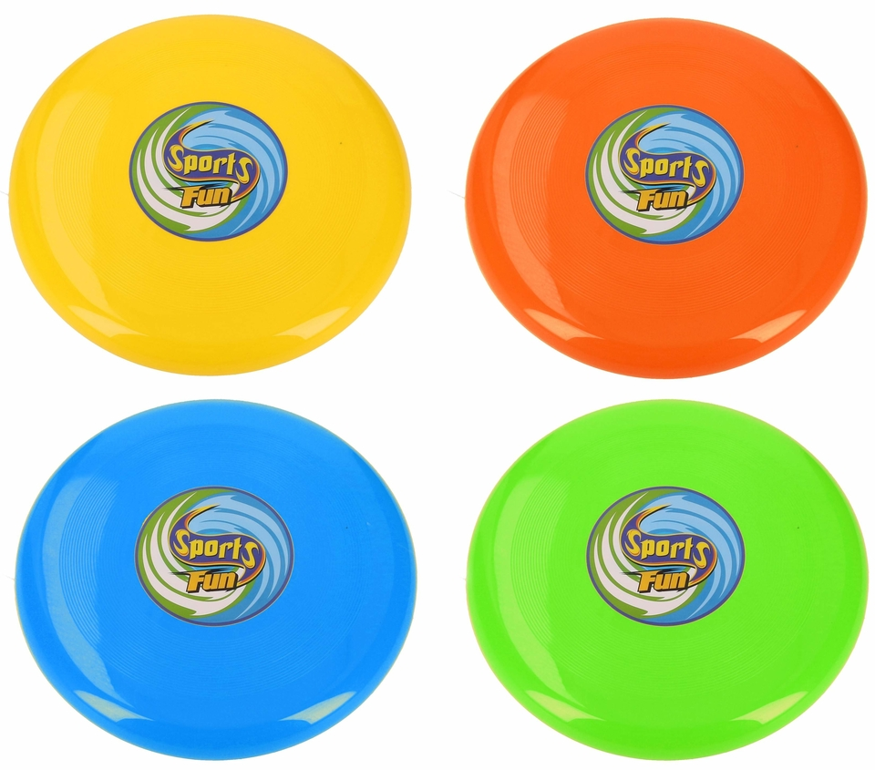 Lietajúci disk 25cm - žltá