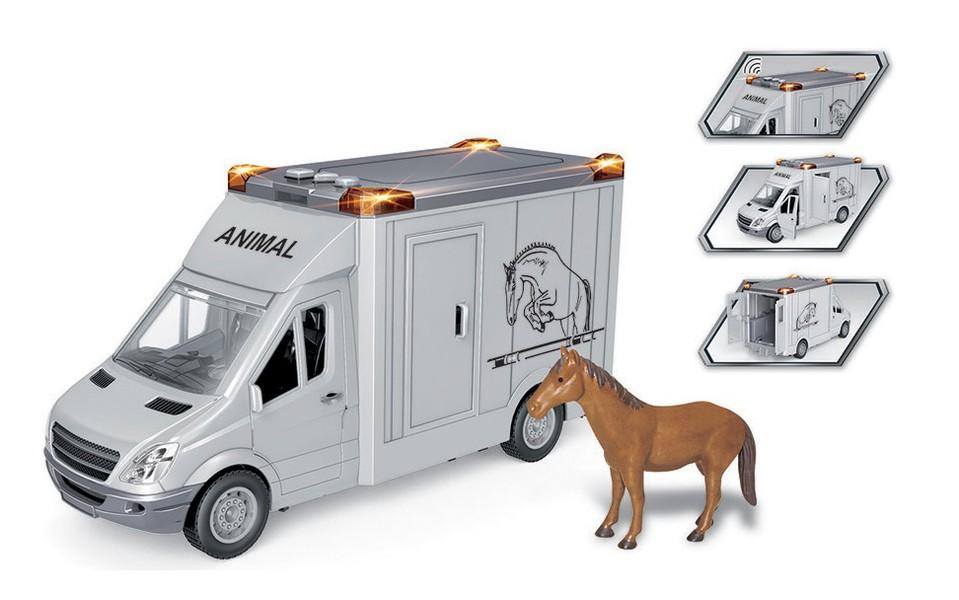 Dodávka s koníkom 28cm