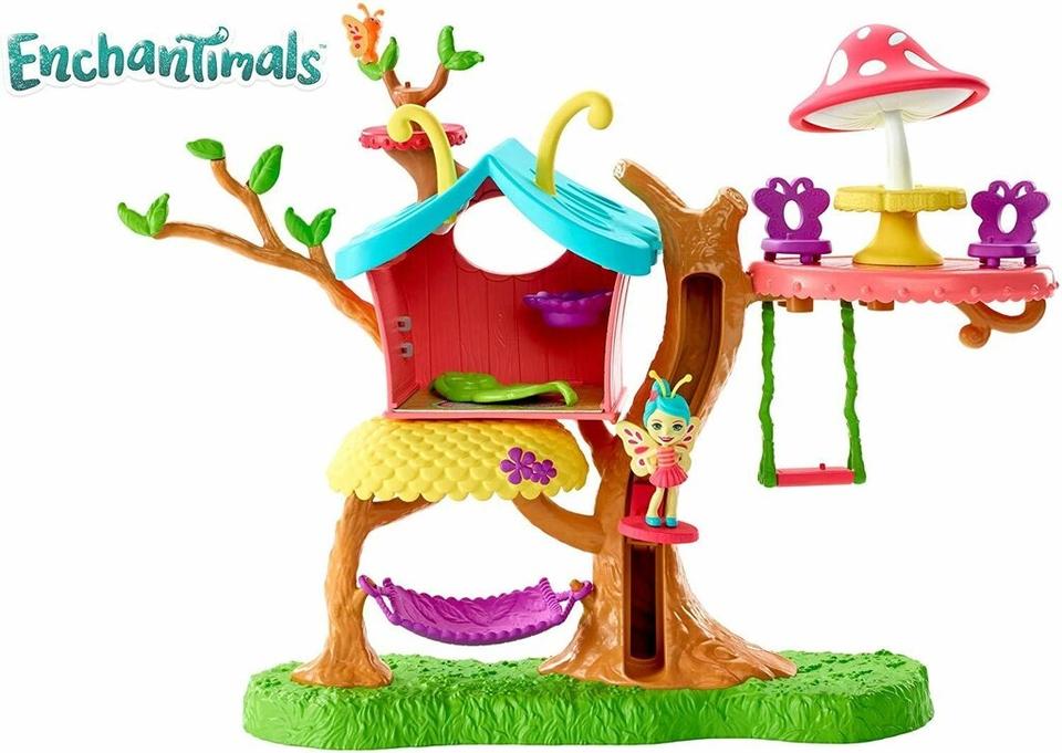 Mattel Enchantimals Motýlkový domček na strome