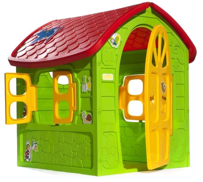 Domček plastový zelený 120cm