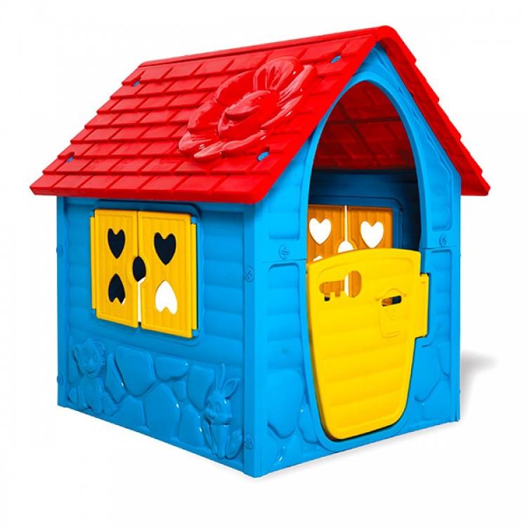 Plastový domček Dohány 106x98x90cm