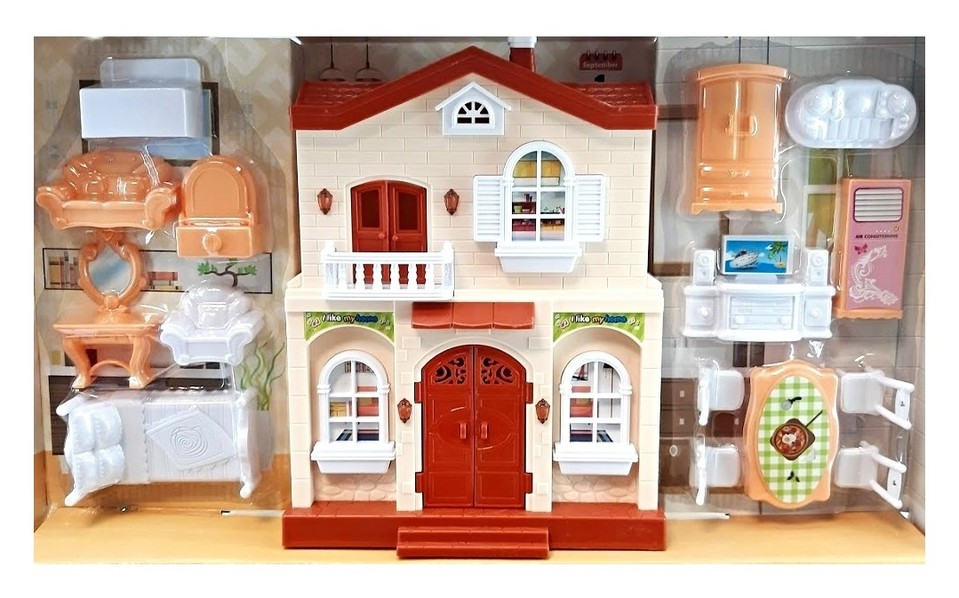 Domček pre bábiky 50x24cm