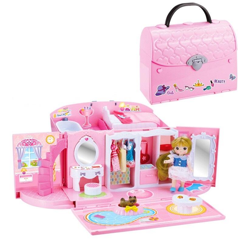 Domček pre bábiky/kabelka