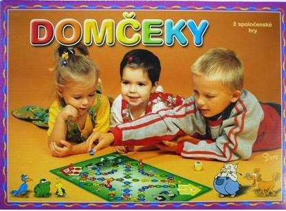Domčeky - spoločenská hra