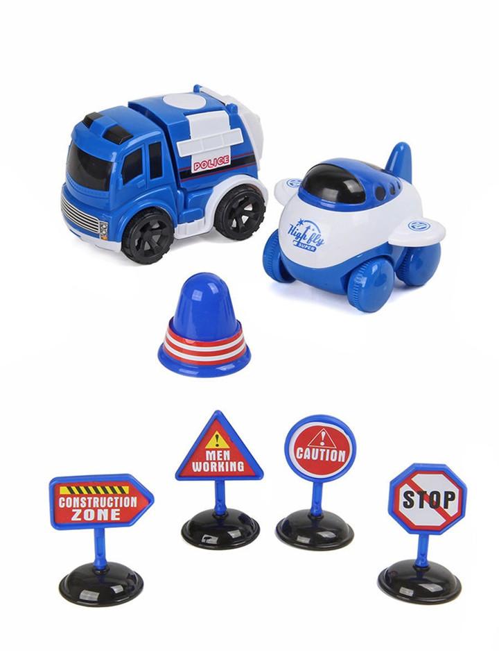 Policajné vozidlá sada