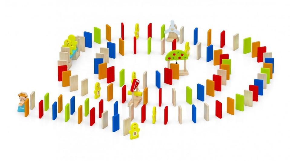 Viga Domino drevené 116ks