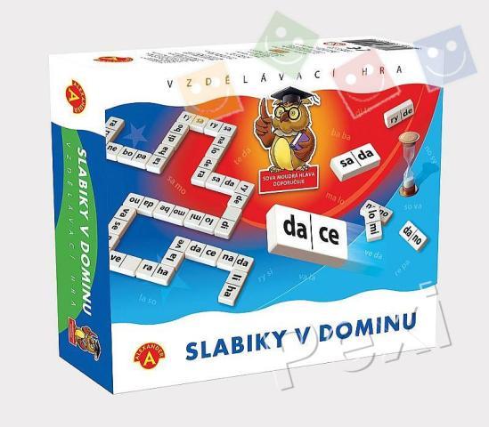 Domino - Slabiky