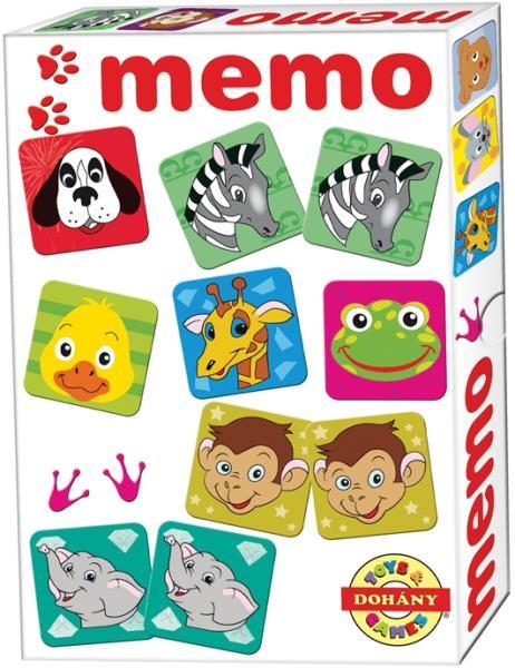 Domino, Pexeso: zvieratká a čísla