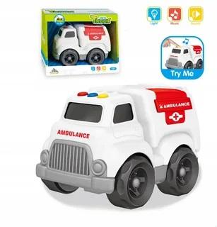 Dopravné prostriedky s efektmi 16cm - hasičské auto
