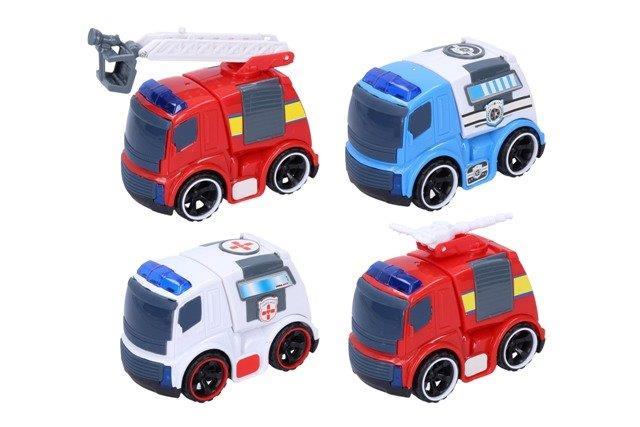 Dopravný prostriedok 10cm - hasičské auto