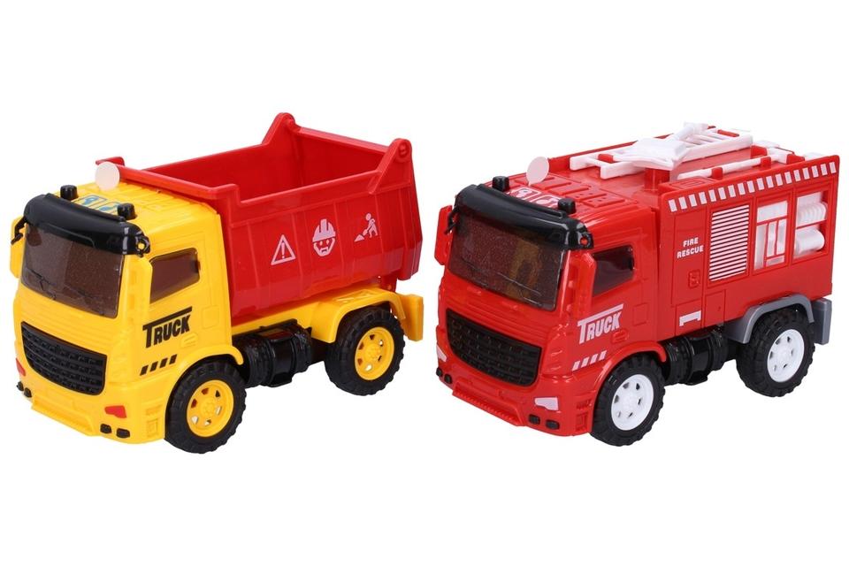 Auto pracovné 14cm - hasičské auto