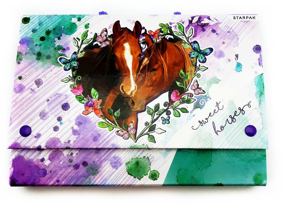 Taška na spisy s rúčkou Sweet horses