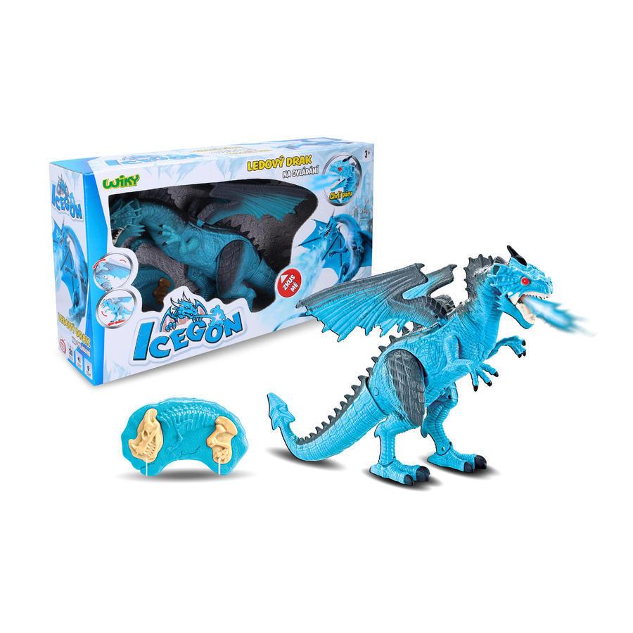 Ľadový drak Icegon s efektmi RC 45cm