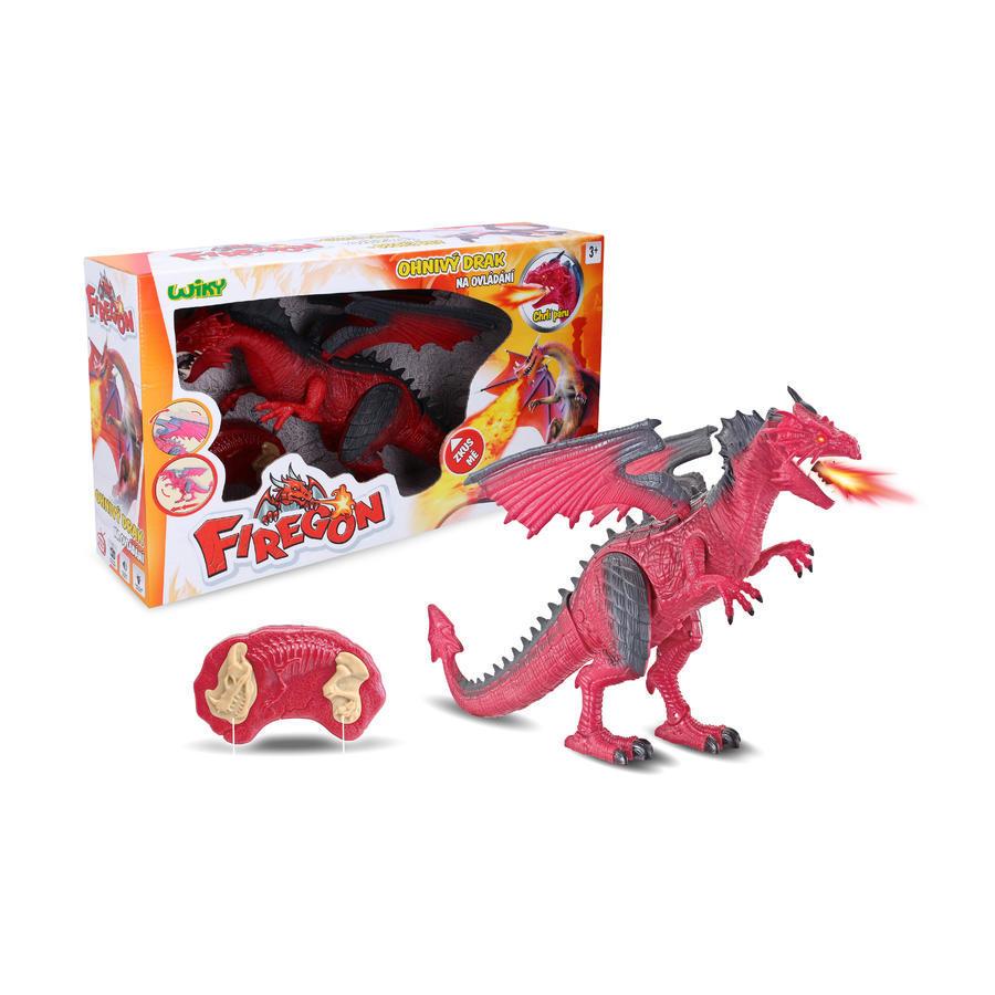 Ohnivý drak Firegon s efektmi RC 45cm