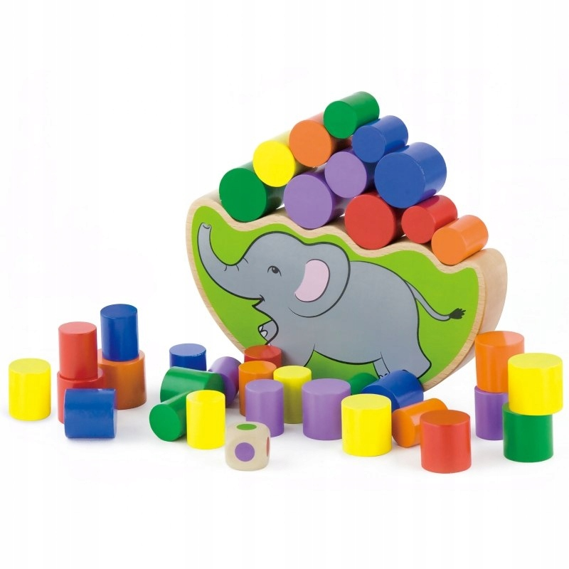 VigaDrevený balančný slon