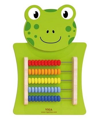 Viga Drevená nástenná hra žaba