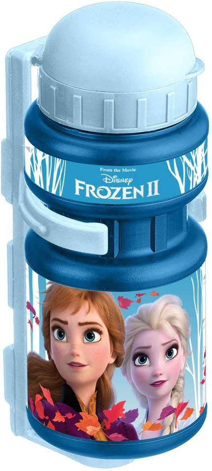 Detská fľaša s držiakom na bicykel Frozen 350ml