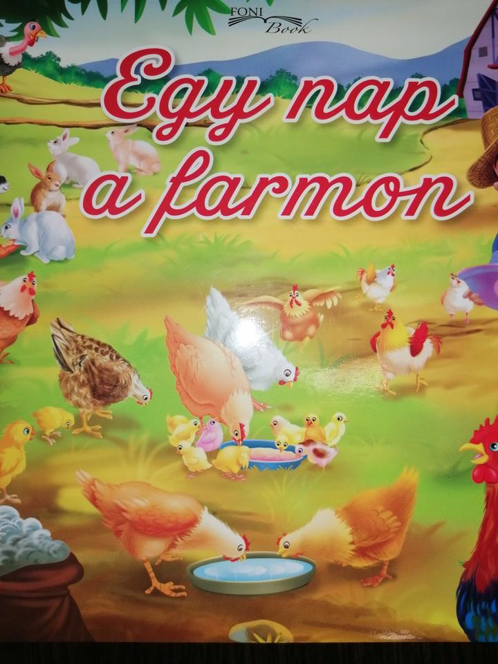 Egy nap a farmon - leporelló (Maďarská verzia)