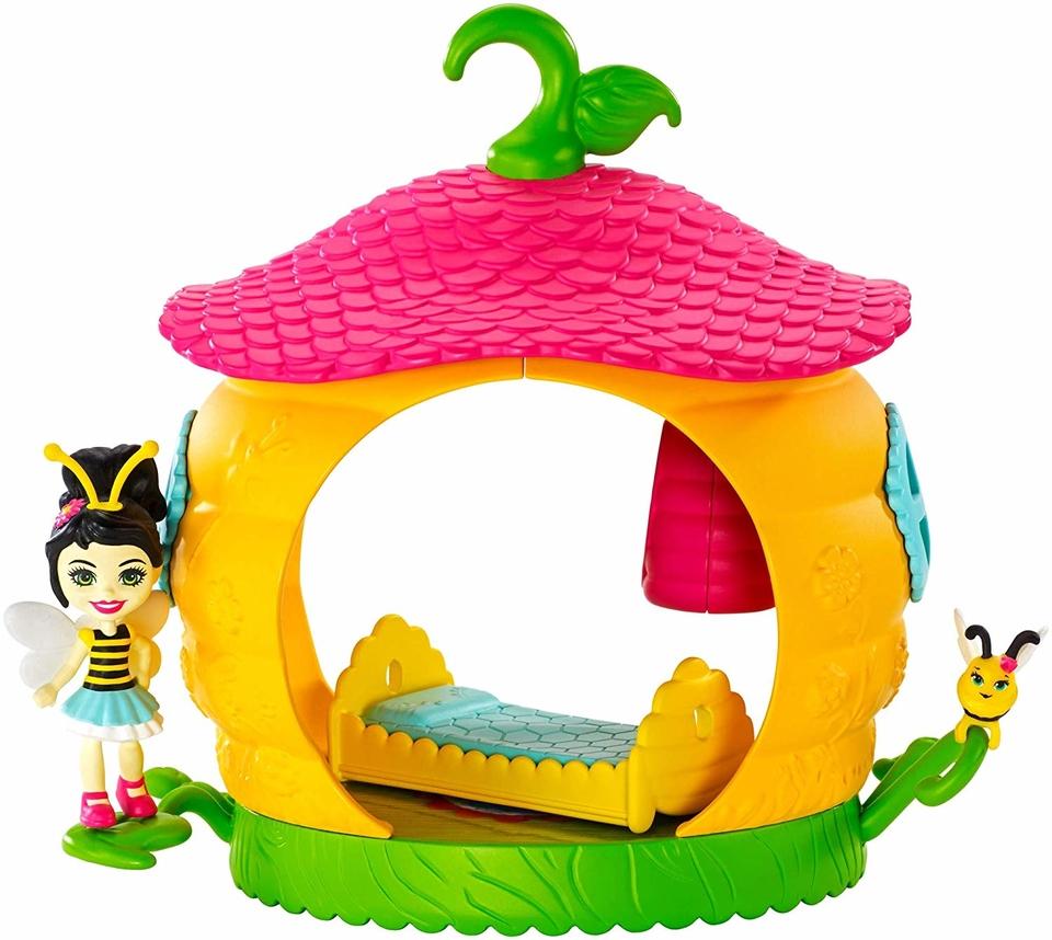 Mattel Enchantimals chrobáčik s domčekom Beehive Bedroom