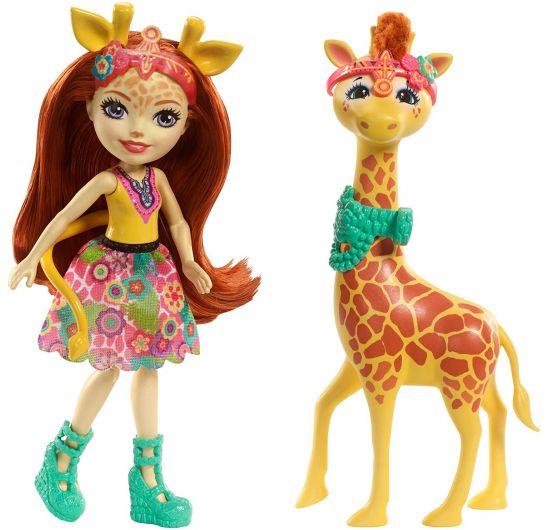 Enchantimals so zvieratkom - žirafa