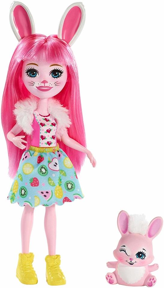 Mattel Enchantimals figúrka Bree Bunny a Twist
