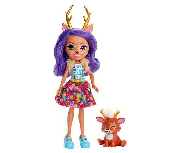 Mattel Enchantimals figúrka Danessa Deer a Sprint