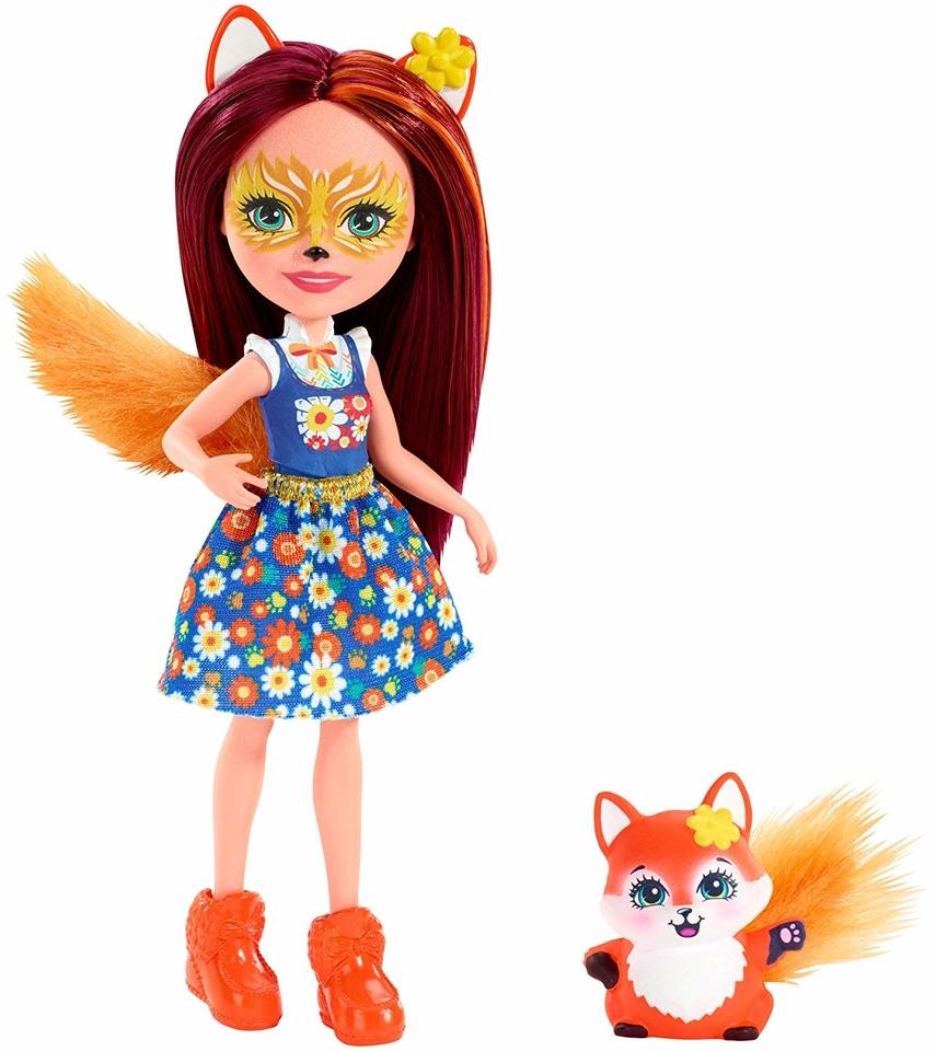 Mattel Enchantimals Felicity Fox & Flick