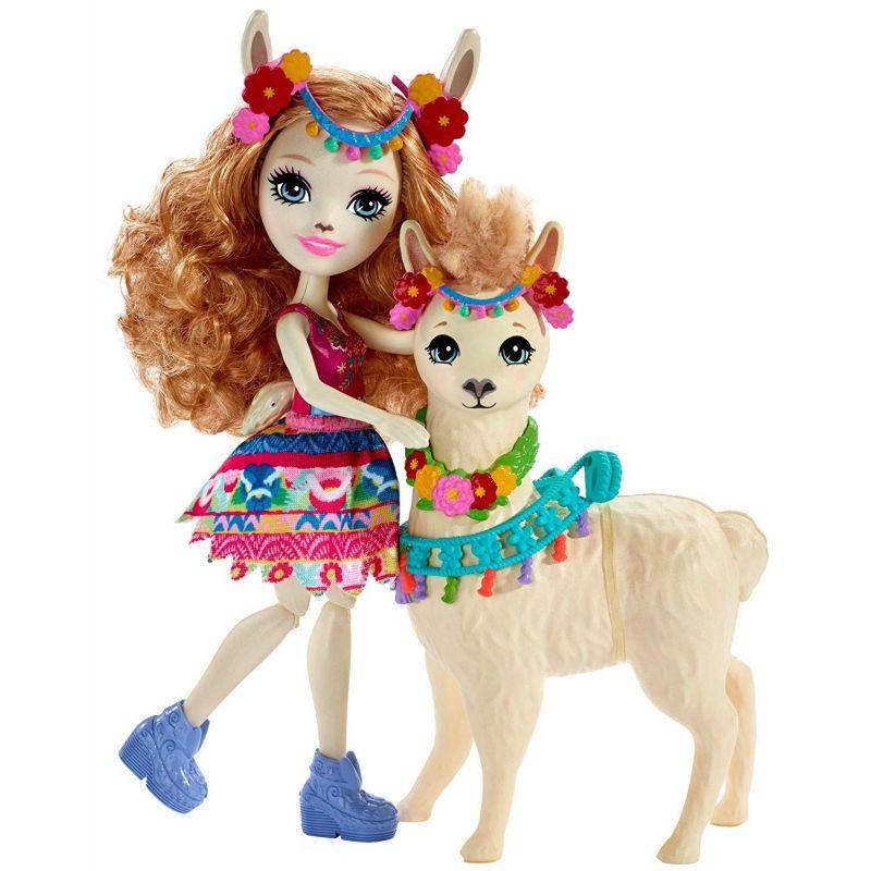 Enchantimals Fleecy a lama Lluella