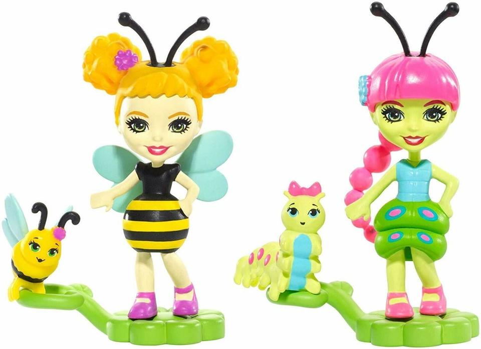 Mattel Enchantimals Bug Buddies Husenica a včielka