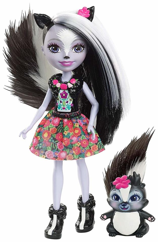 Mattel Enchantimals figúrka Sage Skunk a Caper