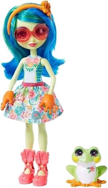 Mattel Enchantimals figúrka Tamika Free Frog a Burst