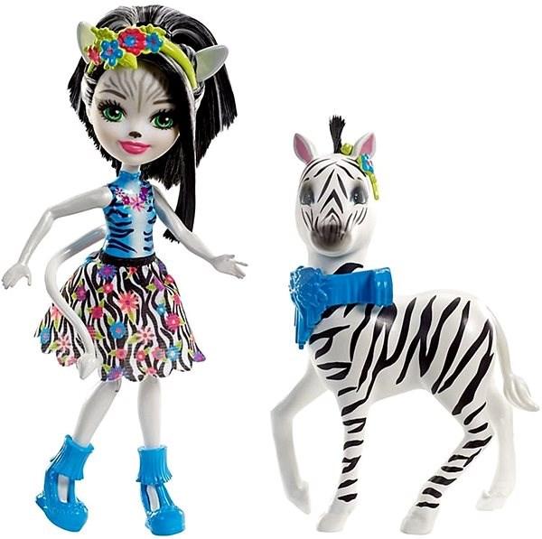 Enchantimals Zelená zebra a Hoofette
