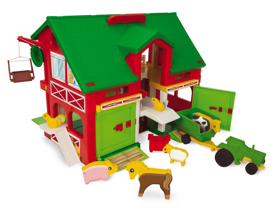 Wader Farma so stodolou a zvieratkami