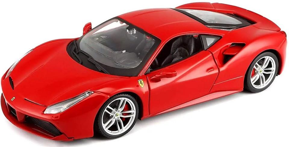 Bburago auto Ferrari 488 GTB 1:18