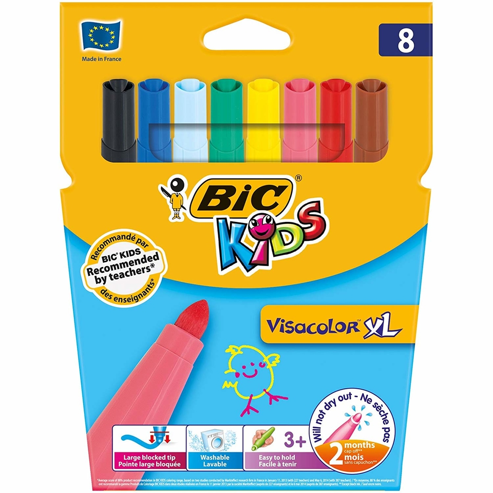 BIC Kids Visacolor XL Fixky 8ks
