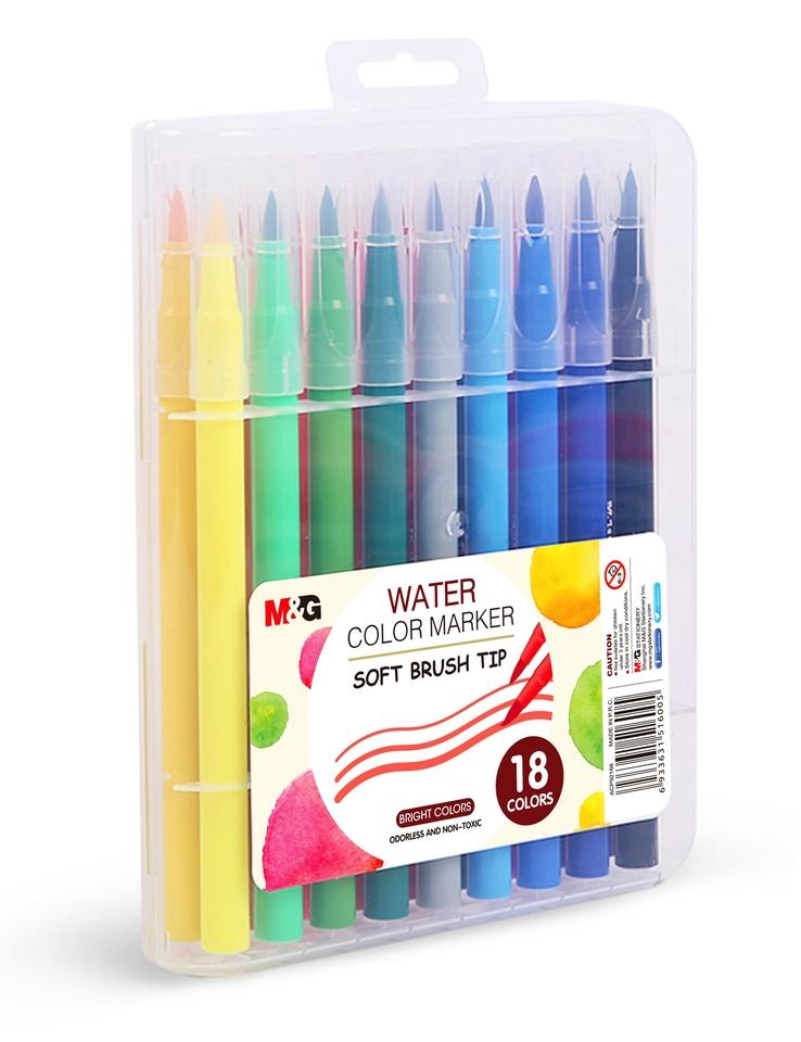 Farebné vodové fixky 18ks