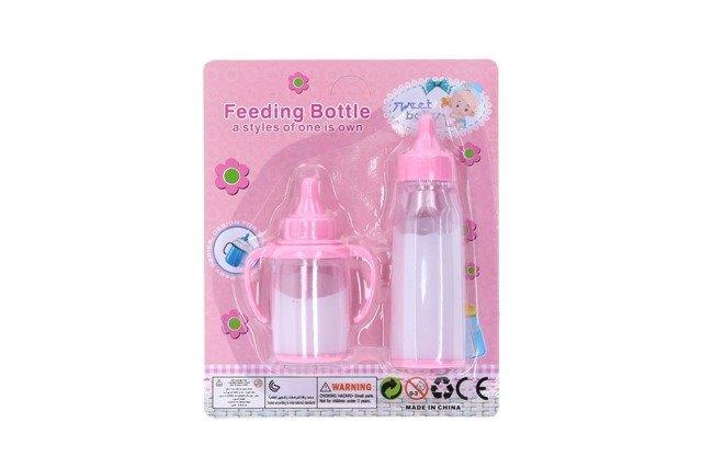 Fľašky pre bábiku sada
